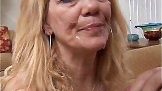 Brazzers xxx: cute blonde mature shaved
