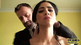 Brazzers xxx: Dildo tit squirt and sub tunneled