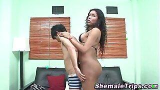Hot Latina & Teen get british licks - 284