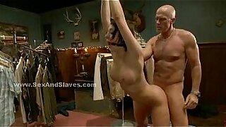 Brazzers xxx: Lezdom threesome punishment pole bondage displays