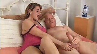 Brazzers xxx: Older Body MILF Kaci Starr hardcore fuck and finger multiple cumshots