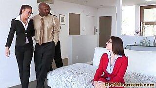 Brazzers xxx: Sexy Valentina Nappi femdom ass on BRI
