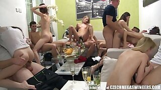 Brazzers xxx: hot girl group orgy homemade in de canada