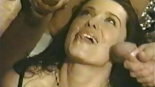 Brazzers xxx: Amazing and massive gang. men for girls