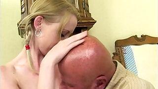 Brazzers xxx: Teen slut Monika does old man