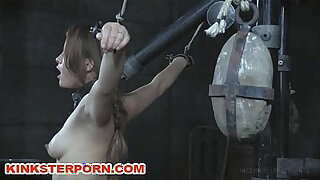 Brazzers xxx: Slavegirl Milking in Restraints