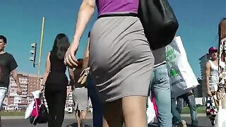 Brazzers xxx: Booty Walking in the street and Shaking Ass