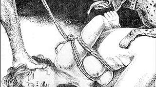 Brazzers xxx: Slaves to rope japanese art bizarre bondage extreme bdsm painful cruel punishment asian fetish