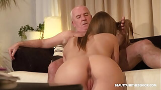 Brazzers xxx: Old farmer gets her horny and fucks his hot niece