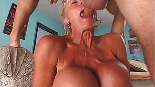 Brazzers xxx: Grandma with big tits