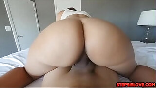 Brazzers xxx: Stepsis Demi Lopez gets her juicy ass fucked hard from behind for talking trash