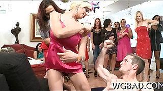Brazzers xxx: Sensational stripper party