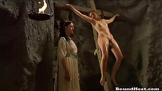 Brazzers xxx: Lesbian slave punishment video Slave Tears Of Rome