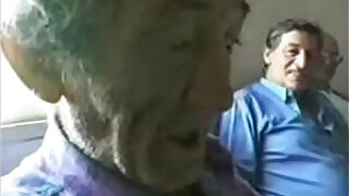 Brazzers xxx: Pervert teen jerking very old italian man. Home made