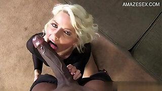 Brazzers xxx: Busty wife oral creampie