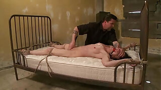 Brazzers xxx: Bound bdsm bitch pussy punish