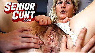 Brazzers xxx: Horny milf Marta a lot of squirting during pussy spreading games