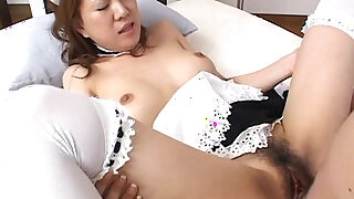Brazzers xxx: Asian maid getting fucked hard by the dude