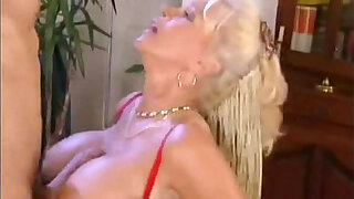 Brazzers xxx: Hot German Granny