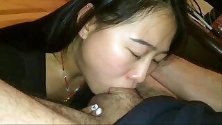 Brazzers xxx: asian teen babe deepthroating white cock from .