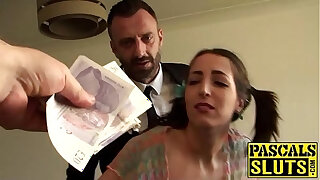 Brazzers xxx: Dirty slut liz punished and drilled hard by pascals hard cock