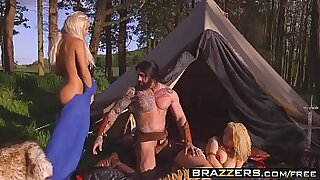 Brazzers xxx: Kimber Storm talks their naughty toes to their lover