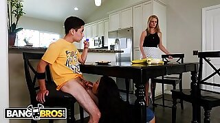 Brazzers xxx: Brother and sister Laura Fucked