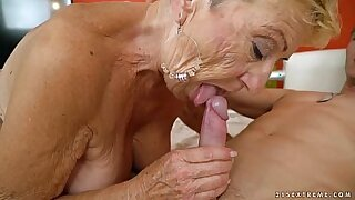 Brazzers xxx: Young granny almost paid one hell of a bang