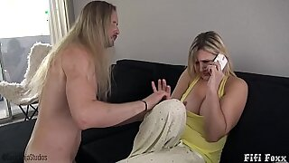 Brazzers xxx: Mommy Takes Two Roes From Her Son And Sucks His Cock!