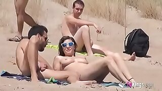 Brazzers xxx: Real Sexy Guys Naked on the Beach