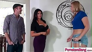 Brazzers xxx: Hot Pornstar Carter Mitchell Takes On Big Cock
