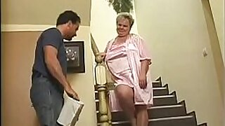 Brazzers xxx: Milky Granny punished with tat