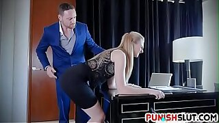Brazzers xxx: Finger Punished Boss Face Fucking