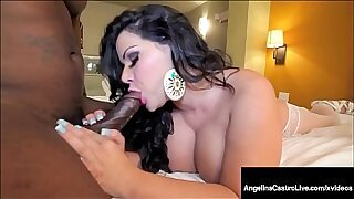 Brazzers xxx: Black Latina Camgirl Rides Hard Cock to The End